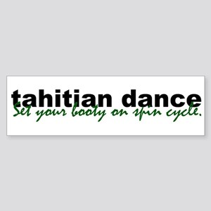 Tahitian Dance Bumper Sticker